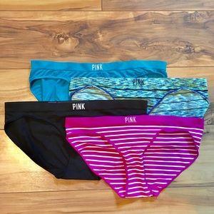 NWOT PINK Panty Bundle (4 Pairs)